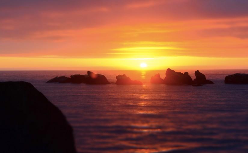 Alba e tramonto del percorso comunitario